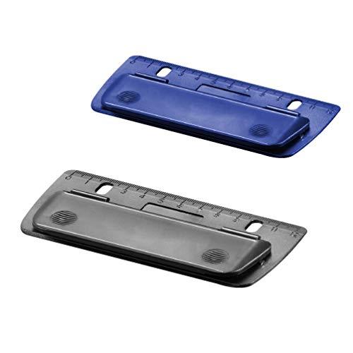 Herlitz 10696250 Mini-Taschenlocher zum Einheften und für unterwegs, farbig sortiert - keine Farbauswahl möglich!, 1 Stück
