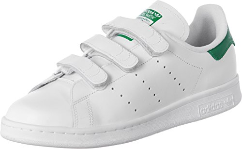 adidas - Stan Smith Cf, Scarpe da corsa Uomo, Bianco (Blanc (Ftwr White/Ftwr White/Green)), 40 EU