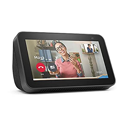 All-new Echo Show 5 (2nd Gen, 2021 release) | Smart display with Alexa and 2 MP camera | Charcoal from Amazon