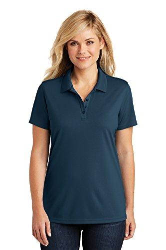 Port Authority Womens Dry Zone UV Micro-Mesh Polo (LK110) -River Blue -M