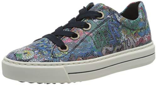 ARA Damen Courtyard Sneaker, BLAU,36.5 EU Weit