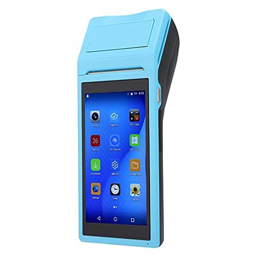 Weikeya Mini Impresora, Tarjeta de Memoria de Impresora de recepción multifunción 5.5 (Pulgada) (Azul)