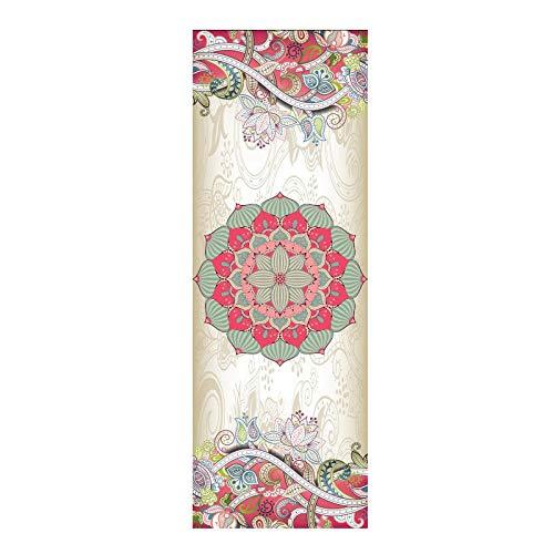 Vitila Yoga Handtuch Mikrofaser Yogadecke 73x26in/185x65cm Blanket für Fitnessfreaks.Zumba, Yoga, m Wischtuch abwischen