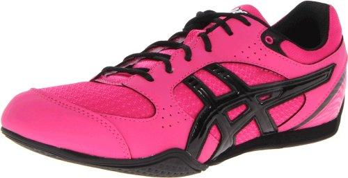 ASICS Women's Rhythmic 2 Cross-Training Shoe,Hot Pink/Black/White,8.5 M US