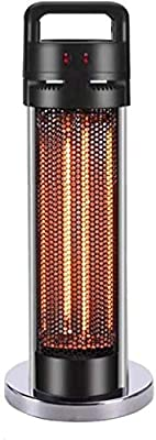 Wealthgirl Outdoor Patio Heater, Outdoor Standing Electric Patio Heater Infrared Heater Stable Column Heater