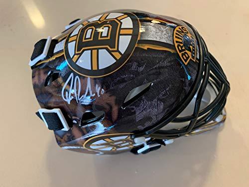 Tuukka Rask Boston Bruins Signed Autographed Bruins Mini Goalie Mask