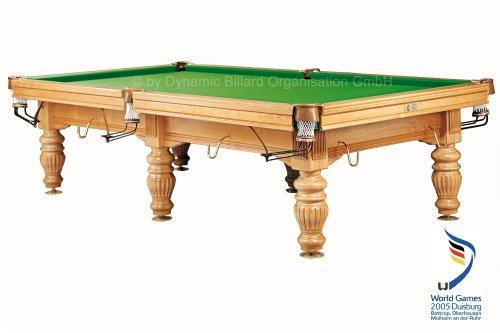 "Billardtisch ""Dynamic Prince"", 10 Fuß, esche, Snooker"