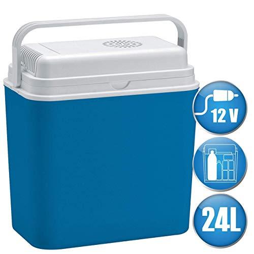 LEX elektrische koelbox 24 L reizen camping mini koelkast 12 volt auto vrachtwagen caravan thermo-elektrische koelbox