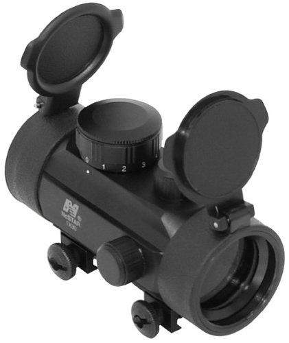 NcStar 1X30 B-Style Red Dot Sight / Weaver Base (DBB130)