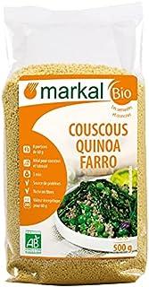 Markal Organic Quinoa Spelt Couscous, 500g - Pack of 1