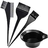 A1SONIC® Haarfärbe-Pinsel-Set mit Schale und Pinsel (4-teilig)