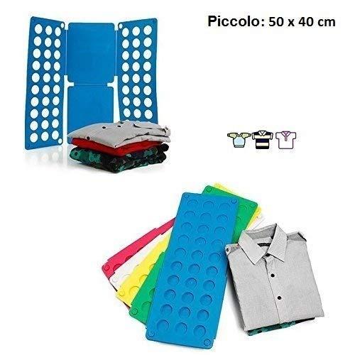 Ducomi® - Doblador de ropa para doblar rápidamente camisas, vestidos, pantalones, camiseta. Accesorio para doblar ropa.