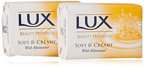 Lux Soft und Creamy Stück Seife (2x 125 g)
