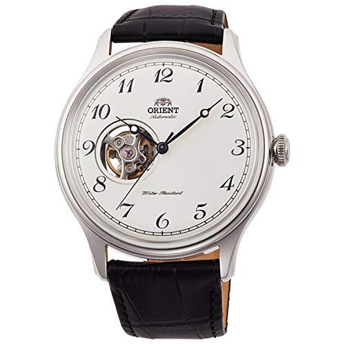 Orient Unisex Erwachsene Analog Automatik Uhr mit Leder Armband RA-AG0014S10B