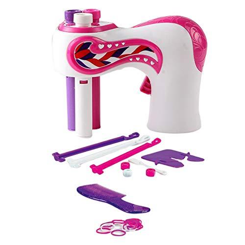 F Fityle Multi-funktionale Elektrische Haar Flechten Maschine Haar Schönheit Mode Salon Spielzeug Kit für Teen