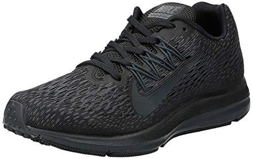 Nike Women's Air Zoom Winflo 5 Running Shoe, Black/Anthracite, 6.5