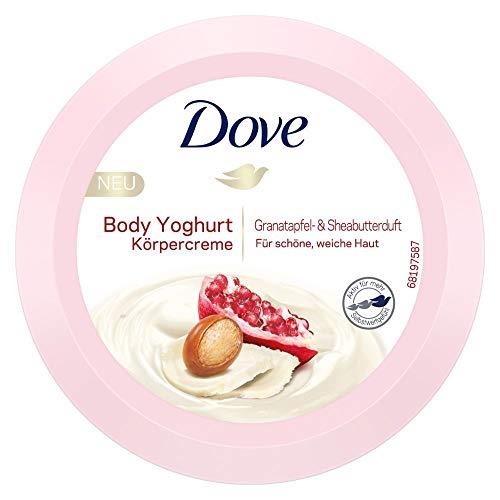 Dove Body Yoghurt Körpercreme mit Granatapfel & Sheabutterduft, 250 ml