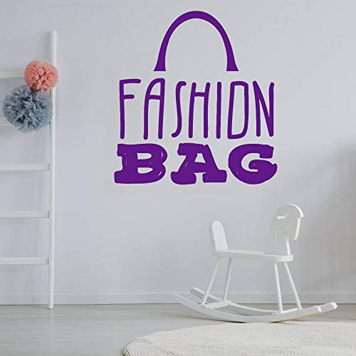 Tianpengyuanshuai Mode Tasche wandtattoos Moderne hauptdekoration große wandaufkleber tapete Rollen auf der wanddekoration zu Hause abnehmbare 54x55cm