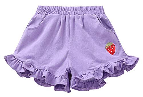 DEMU meisjesshorts zomer korte broek kleine kinderen baby hotpants katoen met aardbei