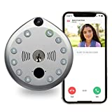 Smart Lock by Gate Labs: WiFi All-in-One Doorbell & Deadbolt | App Enabled, Built-in Camera, Two-Way Talk, Remote Unlock, Motion Activated Live Stream, (Keyless Entry, Easy Install), Single Lock Set