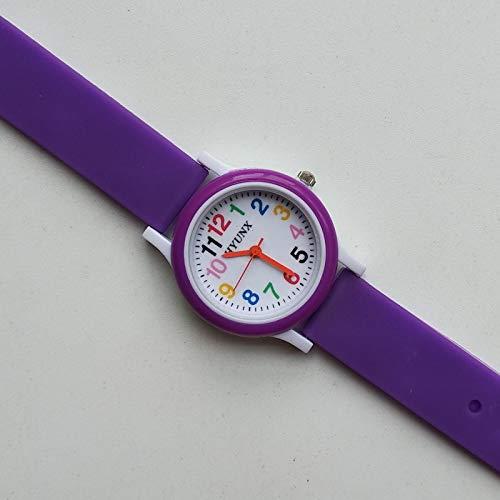 GUILING Kid Último lanzamiento 3D bebé reloj juguetes niños reloj para niño niña impermeable digital niños relojes niño niño reloj