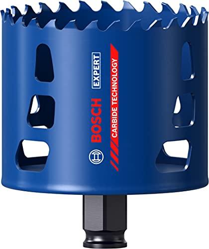 Bosch Professional 1 x Sierras de corona Expert Tough Material, para Madera con metal, 80 mm, Accesorios Taladro de impacto rotativo