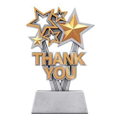 Decade Awards Thank You Trophy - Sponsor Appreciation Award - 6 Inch...