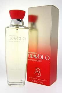 Diavolo Perfume by Antonio Banderas for Women. Eau De Toilette Spray 3.4 oz / 100 Ml