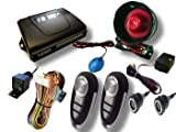 Remote Central Locking Car Alarm And Immobiliser With Electric Boot Release And Ultrasonic