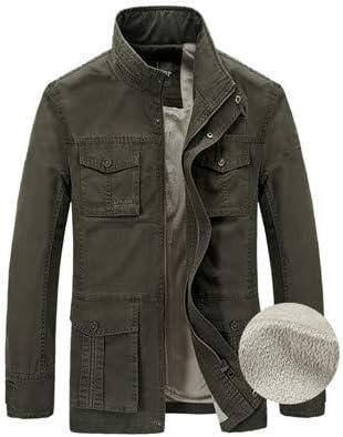 TIMOTHY BURCH Brand Jacket Men Thick Warm Fleece Winter Jacket Men Army Jackets Coats with Many Pockets