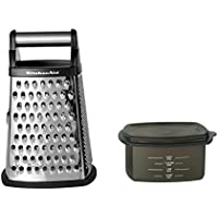 KitchenAid Gourmet 4-Sided Stainless Steel Box Grater