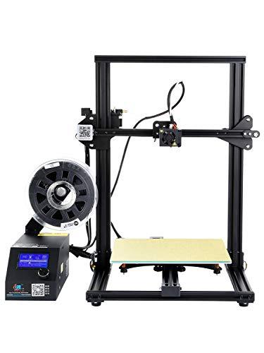 ZLQ Imprimante 3D CR-10S avec Carte de contrôle améliorée et Moniteur de Filament Accessoires d'imprimante à Double vis Z