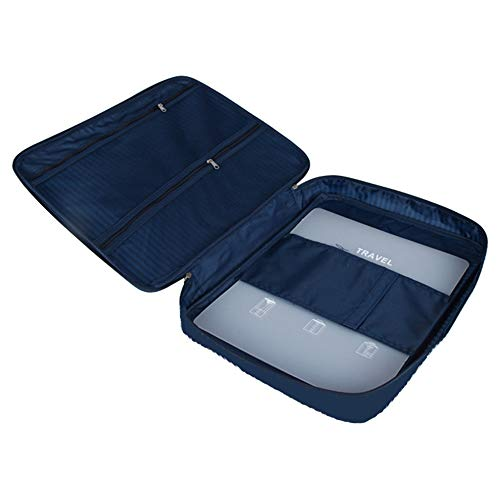 Lezed Bolsa De Almacenamiento Antiarrugas Camisa Organizador Bolsas De Viaje para Camisa Y Corbatas Impermeable Antiarrugas Bolsas De Almacenaje para Ropa