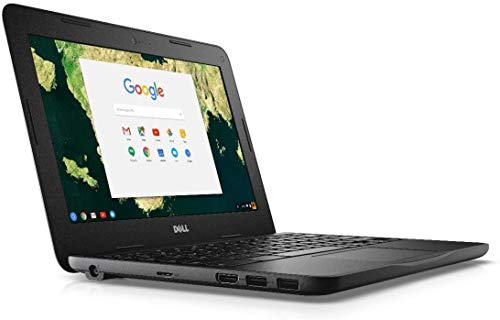 Dell Chromebook 11 - 3180 Intel Celeron N3060 X2 1.6GHz 4GB 16GB, Black (Renewed)