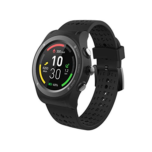 Blaupunkt MP5600-133 Smartwatch, wasserfest, mit GPS – kompatibel mit Bluetooth – Schwarz