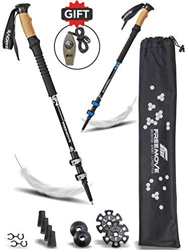 Flexible Trekking Climbing Poles Abrasion Resistant Tungsten Steel Stick TYJ