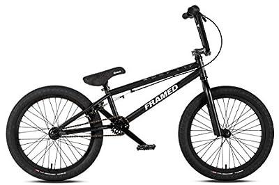 Framed Attack Pro BMX Bike Black/Silver Sz 20in