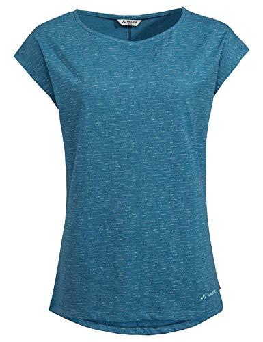 Vaude Damen T-shirt Women's Zaneta Aop T-Shirt, Kingfisher, 34, 42050