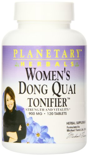 Planetary Herbals Dong Quai Tonifier Tablets, 120 Count