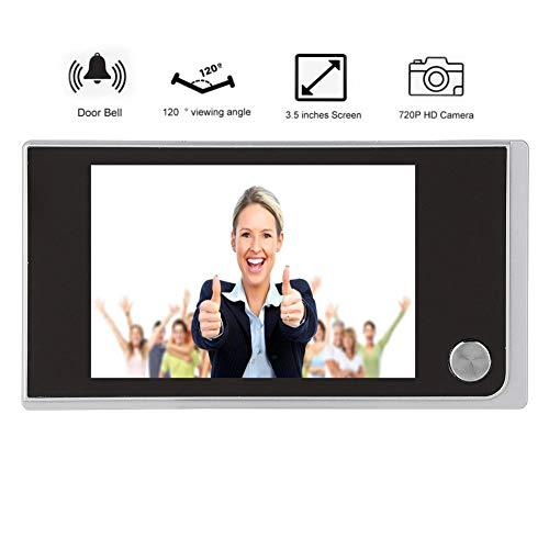 NITRIP 3 pouces TFT LCD Screen HD Smart Spyhole Sonnette visuelle avec 1MP IR Cam/éra Eyesight Nuit