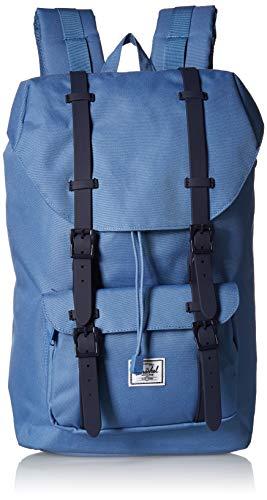Herschel Little America 10020-03001-OS Backpack with Laptop Sleeve - Riverside/Peacoat (Blue)