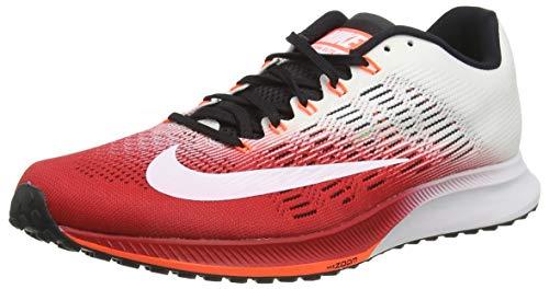 Nike Air Zoom Elite 9unidad para hombre, blanco/rojo
