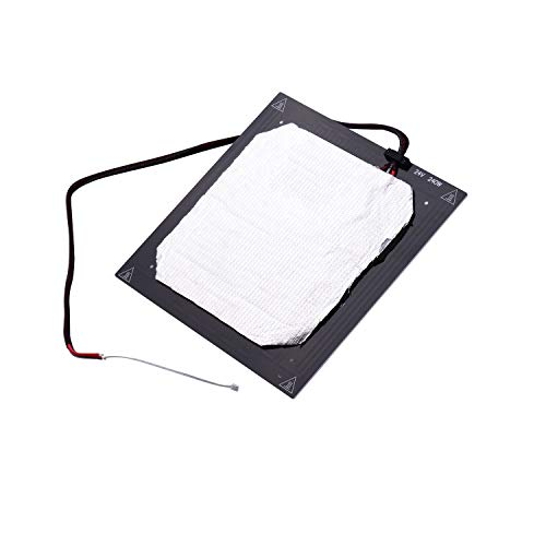 Tooart Heating Bed,12V 3D Printer Heated Bed Hotbed Heating Platform Aluminum Plate 310 * 310mm with Hotbed Wire Insulation Connton Aviation Connector Compatible with Creality CR-10/CR-10S 3D Printer
