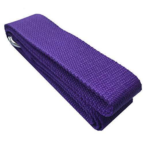 KSER Yoga Massage Roller Yoga Trage mit Yoga Ziegel 4 Stück Set lila Sportgerät Für Zuhause Fitness yogamatte naturkautschuk gartentrampolin kletterwand spielgeräte gartenspielzeug