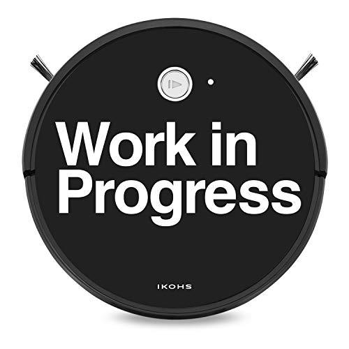 IKOHS NETBOT S15 - Robot aspirateur 4 en 1, Navigation intelligente, Silencieux, 5 Modes de nettoyage, Puissant, Automatique, Convient Pour les Poils d'animaux, WIFI (Netbot s15 / Work in progress)