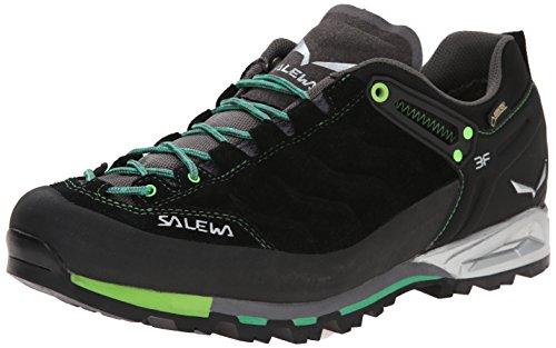 SALEWA Herren MS MTN TRAINER GTX Trekking-& Wanderhalbschuhe, Schwarz (Black/Assenzio), 40 EU