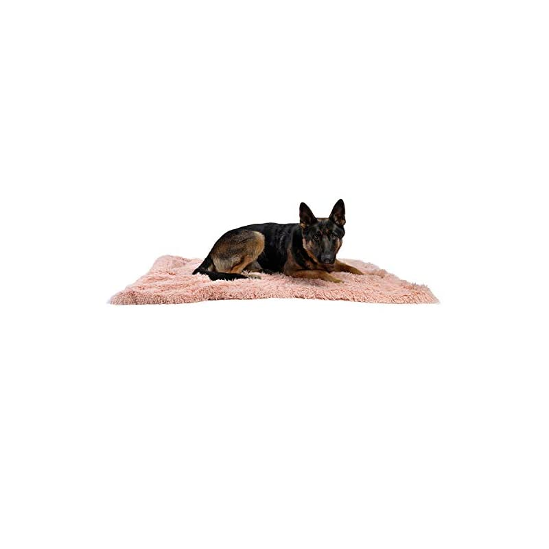 dog supplies online best friends by sheri luxury shag dog & cat throw blanket 40x50, cotton candy, matching donut shag cuddler bed, multi-use, mat, sofa cover, warming, ptb-shg-cdy-4050