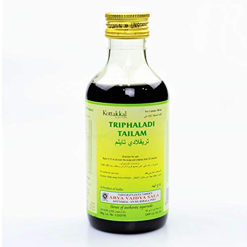 Arya Vaidya Sala Ayurvedic Triphaladi Tailam 200 ml