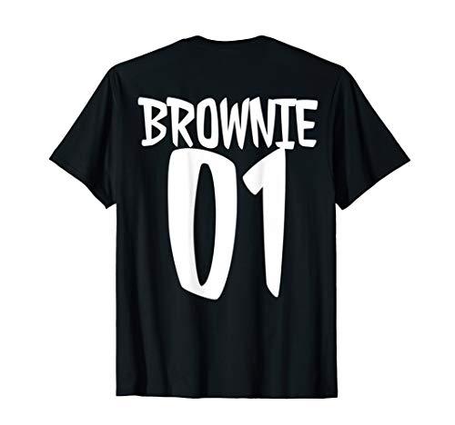 blondie brownie tshirt für 2 mädchen bff forever brownie 01