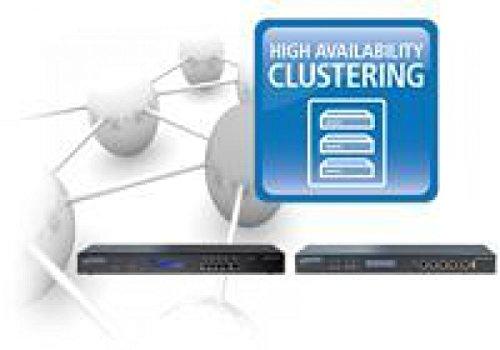 Lizenz / Lancom WLC High Availability Clustering XL Option / Gruppierung von bis zu 10 WLAN-Controllern zu einem hochverfügbaren Geräte-Cluster, komfortabler Konfigurationsausgleich (Config Sync) und zentrales Management, geeignet für LANCOM WLC-4025+ und